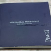Piaget complete kit any models papers booklet warranty card blanc