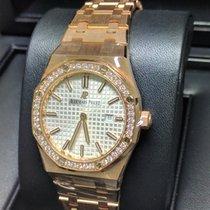 Audemars Piguet Royal Oak Lady Diamond Bezel 33mm 67651OR