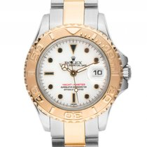 Rolex Yacht-Master Lady Stahl Gelbgold Automatik Armband Stahl...