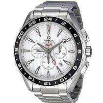 Omega Co-Axial Chronometer Aqua Terra Chronograph GMT  Swiss