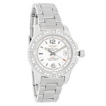 Breitling Colt Ladies Diamond Bezel Quartz Watch A7738853/G793...