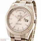 Rolex Day-Date II Ref-218239 18K White Gold Box Warranty...