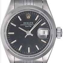 Rolex Ladies Date Stainless Steel Watch 69160