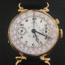 """Omega Chronograph vintage 18k yellow gold """"Italo Balbo"""""""