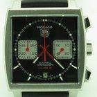 TAG Heuer Monaco Steve Mcqueen Caw2114 Black Chronograph...