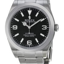 Rolex Explorer Black Dial 39mm Oyster Bracelet 214270