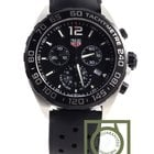 TAG Heuer Formula 1 Chronograph 43mm black rubber