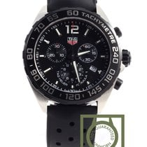 TAG Heuer Formula 1 Chronograph 43mm black rubber
