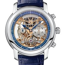 Audemars Piguet Jules Audemars Tourbillon Chronograph in Platinum