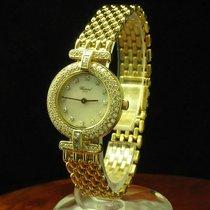 Chopard 18kt 750 Gold Damenuhr Mit Brillant Besatz / Ref...