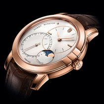 Harry Winston [NEW] Midnight Date Moon Phase 42mm automatic...