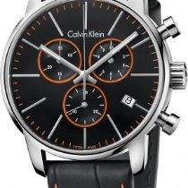 ck Calvin Klein City Chrono K2G271C1 Herrenchronograph Swiss Made