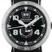 Chronoswiss Timemaster Big Date Stahl Automatik Armband...