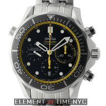Omega Seamaster 300m Diver Co-Axial Chronograph 44mm Black...