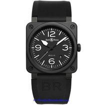Bell & Ross Men's BR 03 Black BR0392-BL-CE