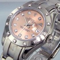 Rolex Pearlmaster 80319 White Gold Masterpiece 12 Diamond...