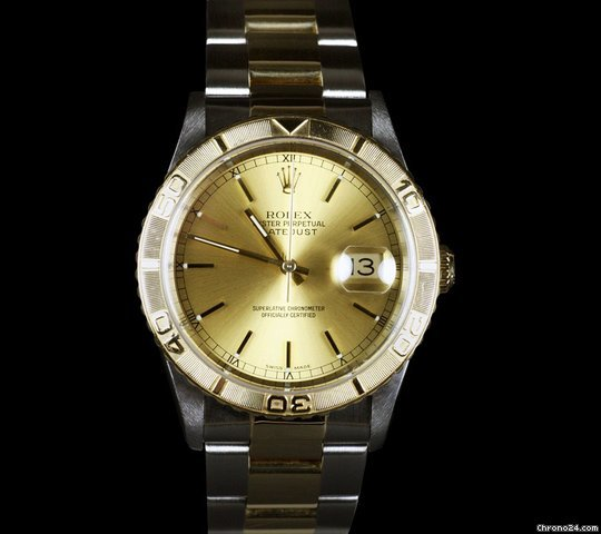 Rolex Datejust Mens SS/18K Turnograph [ON HOLD]
