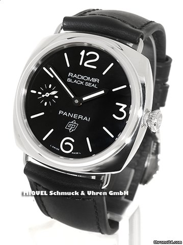 Panerai Officine Radiomir Black Seal Logo (ungetragen)