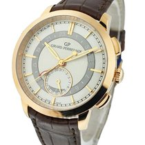Girard Perregaux 1966 Dual Time Mens 41mm Automatic in Rose Gold