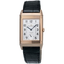 Jaeger-LeCoultre 18K Rose Gold Grande Reverso Men's Watch...