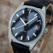 Omega Geneve Swiss Made 1970s Vintage Automatic Stainless...