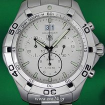 TAG Heuer Aquaracer 43mm Grand Date Chronograph Stainless Steel
