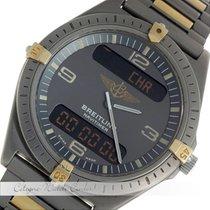 브라이틀링 (Breitling) Navitimer Aerospace Titan / Gold 80360