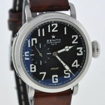 Zenith PILOT MONTRE d'AERONEF TYPE 20  BOX PAPERS 2 YEAR...