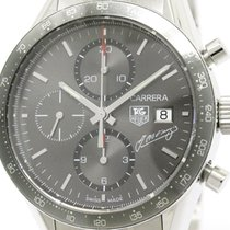 TAG Heuer Polished Tag Heuer Carrera Juan Fangio Limited Steel...