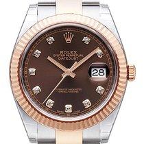Rolex Datejust 41 Ref. 126331 Edelstahl Everose-Gold Choco...
