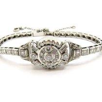 Jaeger-LeCoultre Vintage 5.00ct. Diamonds & Platinum...