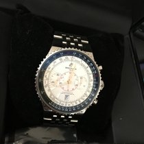 Breitling A23340 Montbrilliant Legende Chronograph Silver Dial...