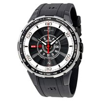 Perrelet Turbine Chronograph Black and White Dial Automatic...