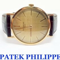 Patek Philippe 18k Mens Calatrava Winding Watch Ref. 3246