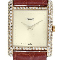 Piaget Vintage 18k Yellow Gold & Diamond Dress Watch on...