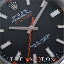 Rolex Oyster Perpetual Milgauss Modèle 116400 Noire FULL SET