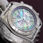 Breitling Chronomat 44 Steel Mother of Pearl Diamonds