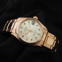 Rolex Date Ref. 6627 18K Pink Gold