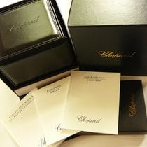 Chopard Deluxe leather watch box with outer box & documents