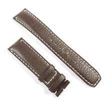 Baume & Mercier Leather strap 20mm deep brown New