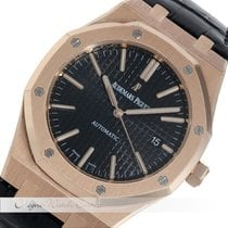 Audemars Piguet Royal Oak Rosegold 15400OR.OO.D002CR.01 VERKLEBT