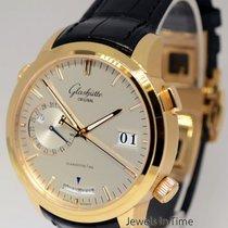 Glashütte Original Senator Diary 18k Rose Gold Alarm Watch...
