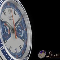Tudor Heritage Chronograph Blau / Blue  Edelstahl + Natoband 42mm