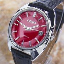 Citizen 4-820096 Te S.steel Automatic Watch 1970's Scx300