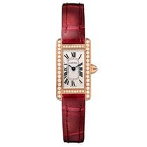 Cartier Tank Americaine Automatic Ladies Watch Ref WB710014