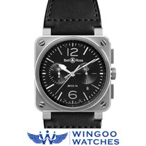 Bell & Ross BR 03-94 Steel Ref. BR0394-BL-SI/SCA