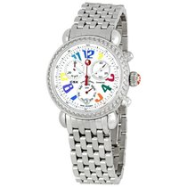 Michele Carousel CSX Diamond Bezel Ladies Watch