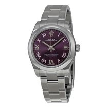 Rolex Oyster Perpetual 31 mm Rolex Oyster Ladies Watch 177200PURO