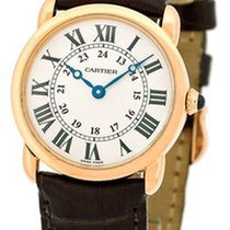 "Cartier ""Ronde Louis Cartier"" Strapwatch."