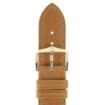 Hirsch Uhrenarmband Camelgrain honig L 01009010-1-16 16mm